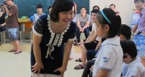 Một một chiều hè cuối năm học với các bạn khiếm thị trường Nguyễn Đình Chiểu