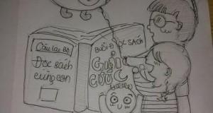 CLB Đọc sách cùng con thông báo về buổi đọc sách nhân dịp Trung Thu