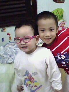 Hai anh em Lê Phúc Hưng và Lê Phương Linh