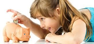 Trẻ con và … tiền bạc!