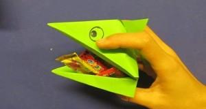 Gấp hộp đựng kẹo ngộ nghĩnh