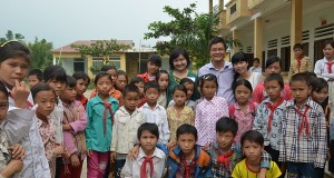 Câu lạc bộ đọc sách đến với các bạn nhỏ huyện Vị Xuyên, tỉnh Hà Giang