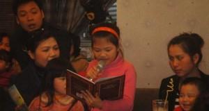 Buổi đọc sách đầu năm mới 2012