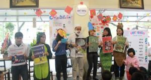 Lễ ra mắt chi nhánh CLB Đọc sách cùng con tại Thư viện cà phê Đông Tây (Cầu Giấy)