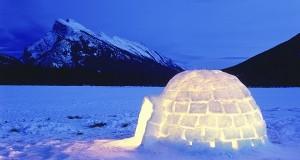 Các bạn có biết ngôi lều tuyết ở Bắc Cực không?