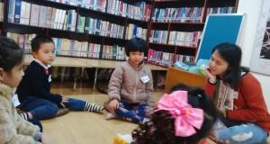 """Buổi đọc sách """"Võ sĩ Bọ Ngựa"""" – Thư viện cà phê Đông Tây"""