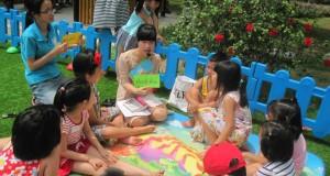 """Buổi đọc sách """"Cá sấu ngứa răng' – Ecopark"""