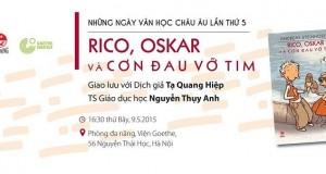 """Giao lưu giới thiệu sách """"Rico, Oskar và cơn đau vỡ tim"""""""