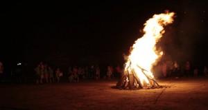 Đêm lửa trại giao lưu với Quận đoàn Đồ Sơn