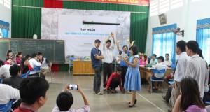 CLB Đọc sách cùng con đến với các thầy cô giáo và các bạn nhỏ tại Quản Bạ và Yên Minh (Hà Giang)