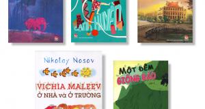 Top 5 cuốn sách Văn học nổi bật của NXB Kim Đồng 2015