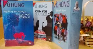 Những cuốn sách viết về bầy voi của tác giả Vũ Hùng