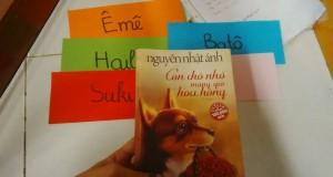 Buổi đọc sách: Con chó nhỏ mang giỏ hoa hồng (Nguyễn Nhật Ánh, NXB Trẻ, 2016)