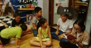 """Buổi đọc sách """"Bầy voi đen"""" (Vũ Hùng, NXB Kim Đồng, 2015)"""