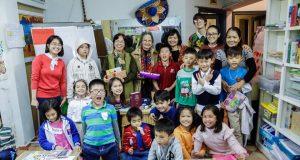 """Lớp Nghĩ và Viết – Buổi đọc sách """"Áng mây"""" (Những truyện hay viết cho thiếu nhi – Trần Hoài Dương, NXB Kim Đồng , 2016)"""