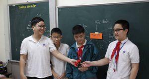 Giao lưu về chủ đề TÌNH YÊU – Lớp 8A1- trường Nguyễn Tất Thành