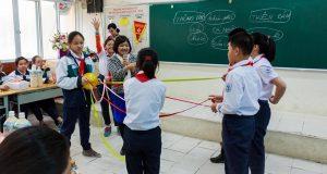 Buổi nói chuyện TSGD Nguyễn Thụy Anh với lớp 6A8 THCS Giảng Võ