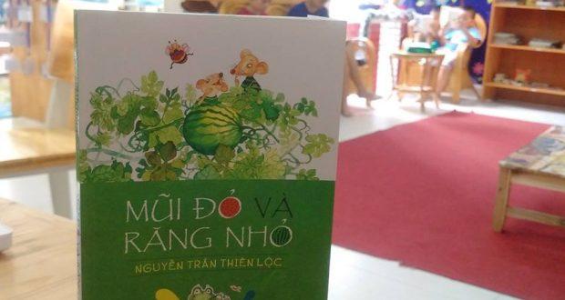 """Buổi đọc sách """"Mũi Đỏ và Răng Nhỏ"""" (Nguyễn Trần Thiên Lộc, NXB Kim Đồng, 2016)"""