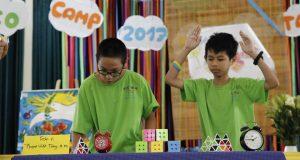 EcoCamp 2017 đợt 3 –  Cuộc thi Vua Rubik