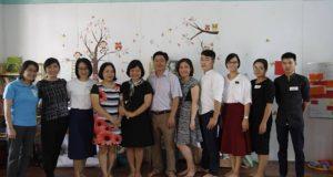 Tập huấn xây dựng Thư Viện Thân Thiện tại Trung tâm giáo dục cộng đồng TP Hà Giang