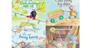 """Bộ sách """"Những thói quen tốt cho sức khoẻ"""" – uốn nắn hành vi của con từ những câu chuyện"""