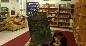"""Buổi đọc sách """"Cuộc phiêu lưu kì lạ của Thỏ Lốc"""" – Ecopark"""