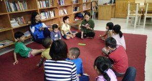 """Buổi đọc sách """"Các bạn của Đam Đam"""" (Vũ Hùng, NXB Kim Đồng, 2017) – Ecopark"""