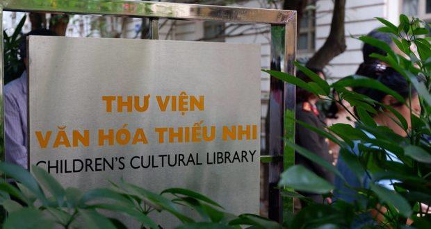 Lễ khai trương Thư viện văn hóa thiếu nhi Việt Nam
