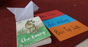 """Buổi đọc sách """"Chó hoang"""" (Bùi Tự Lực, NXB Kim Đồng, 2017) – Ecopark"""