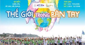 """ECOCAMP 2018 """"THẾ GIỚI TRONG BÀN TAY"""""""