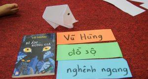 """Buổi đọc sách """"Bí ẩn của con tê giác"""" (""""Bí ẩn của rừng già"""", Vũ Hùng, NXB Kim Đồng, 2017) – Ecopark"""