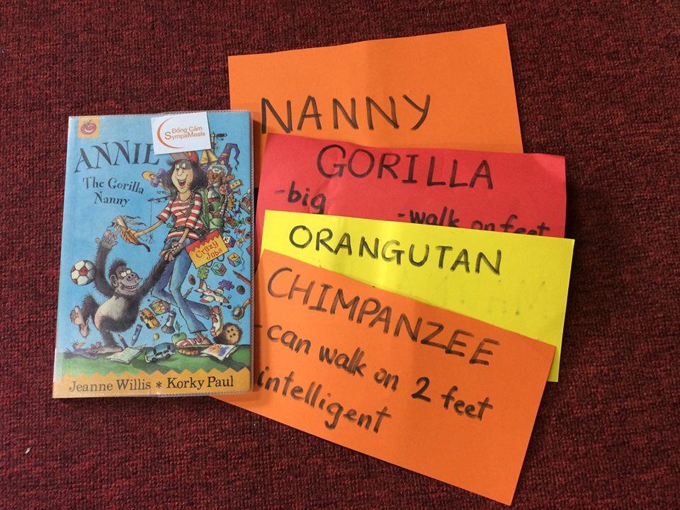 doc sach Annie the gorillia nanny ecopark (1)