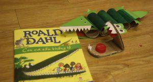 """Buổi đọc sách """"Con cá sấu khổng lồ"""" (Roald Dahl, Quentin Blake minh họa, NXB Kim Đồng, 2015)"""