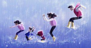 Cơn mưa vui vẻ