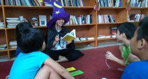 """Buổi đọc sách """"Phi nhanh nào, Winnie"""" (Laura Owen & Korky Paul, Nhã Nam & NXB Hội nhà văn, 2018) – Ecopark"""