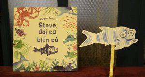 """Buổi đọc sách """"Steve, đại ca biển cả"""" (Megan Brewis, NXB Lao động & Nhã Nam, 2018)"""