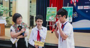 TSGD Nguyễn Thụy Anh giao lưu với học sinh THCS Nguyễn Tất Thành