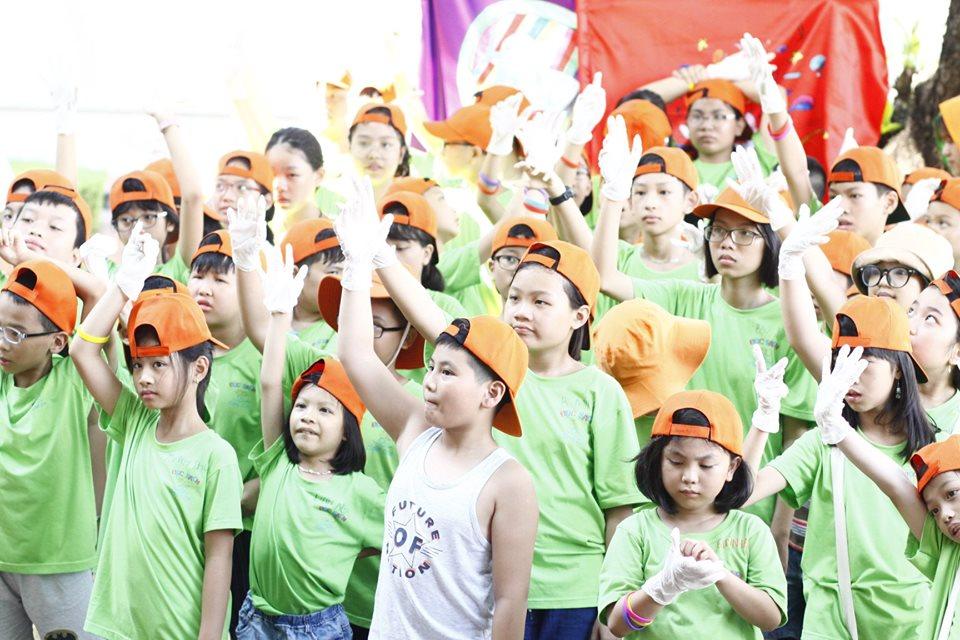 ecocamp 2019 dot 2 - hoat dong lao dong di là xanh dung len là sach (10)