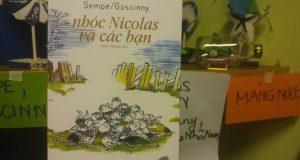 """Buổi đọc sách """"Nhóc Nicolas và các bạn"""" (Sempé & Goscinny, Nhã Nam & NXB Hội nhà văn, 2018))"""