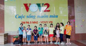 Hoạt động trải nghiệm tại Đài tiếng nói Việt Nam