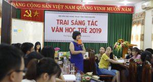 CLB Đọc sách cùng con với Trại sáng tác văn học trẻ tỉnh Thái Nguyên 2019