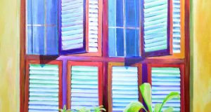 Những bức tranh qua ô cửa sổ