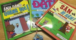 Bộ 3 cuốn sách khoa học dành cho thiếu nhi của NXB Trẻ
