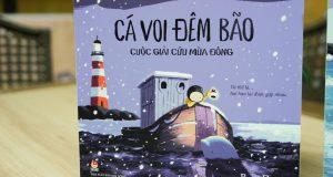 """Chợt nhận ra.. cô đơn (Đọc """"Cá voi đêm bão"""", Benji Davies, NXB Kim Đồng, 2021)"""