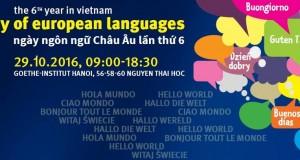 """Thư mời """"Ngày ngôn ngữ châu Âu tại Hà Nội"""" lần thứ 6"""
