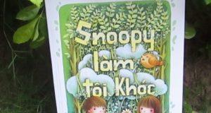 Snoopy làm tôi khóc – Gọi ký ức trong veo, gọi yêu thương đong đầy