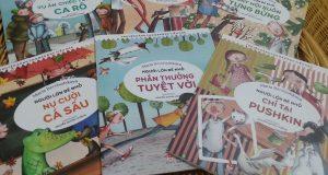 """Bộ sách """"Người lớn bé nhỏ"""" – cho những tháng ngày thơ trẻ trong trẻo và tươi vui!"""