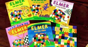"""Chú voi Elmer và những câu chuyện đáng yêu (Đọc """"Elmer và các bạn"""", David Mckee, Mầm Nhỏ dịch, Pingbooks & NXB Phụ nữ, 2017)"""