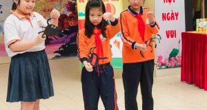 CLB Đọc sách cùng con đến với trường tiểu học Trung Văn (Hà Nội)