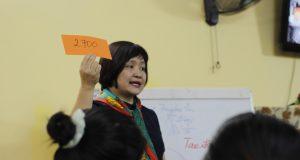 """Tập huấn phương pháp giảng dạy chương trình """"Em học sống xanh"""""""
